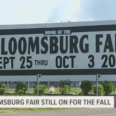 Bloomsburg Fair Still on for September 2020