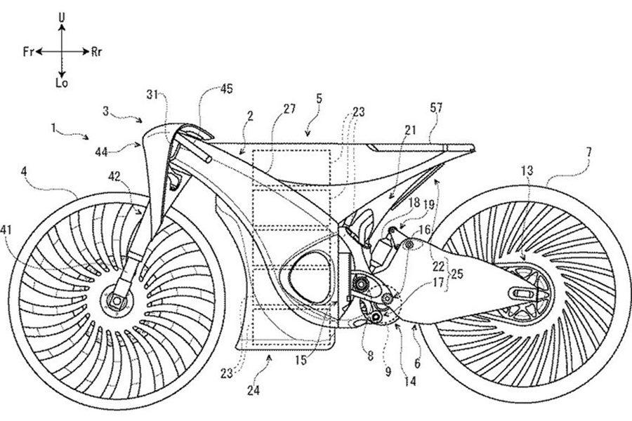 Suzuki's Unseen Electric Concept Bike